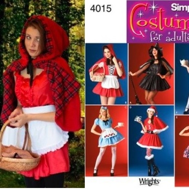 little red riding hood costume, making costumes, costume sewing patterns,how to make a costume