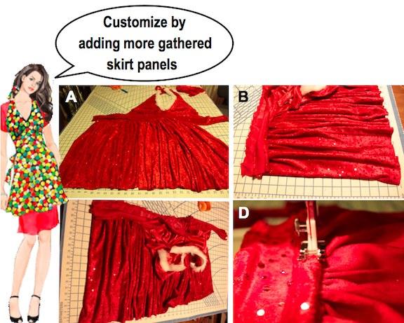 make holiday apron 11