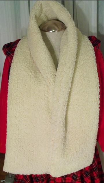 sheepskin scarf 9