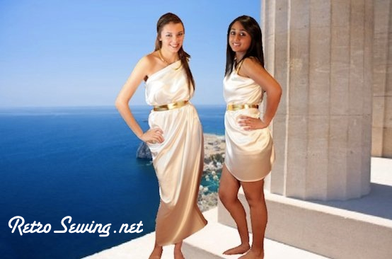 Watch This Short (under 2 Minutes), Fun Video On How To Make A Toga.
