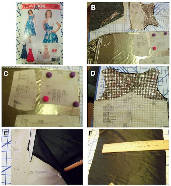 how to make egyptian dress