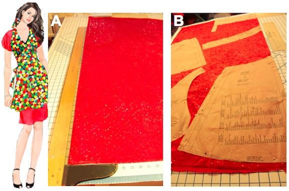 make holiday apron 3