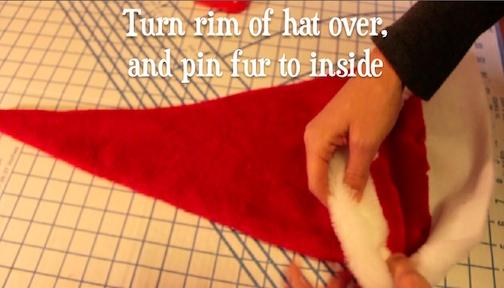 make santa hat 6