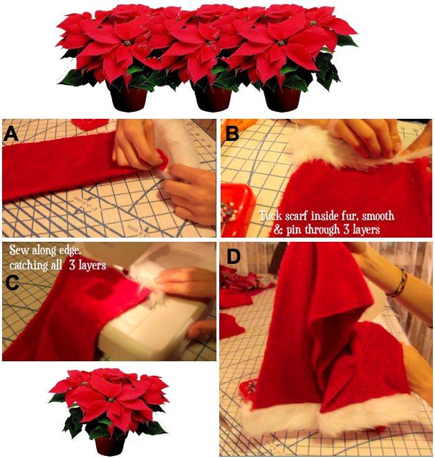 make santa scarf 5