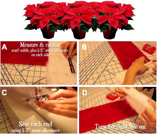 make santa scarf 4
