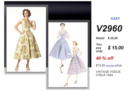 retro sewing patterns, vogue sewing pattern, vogue sewing, vogue pattern